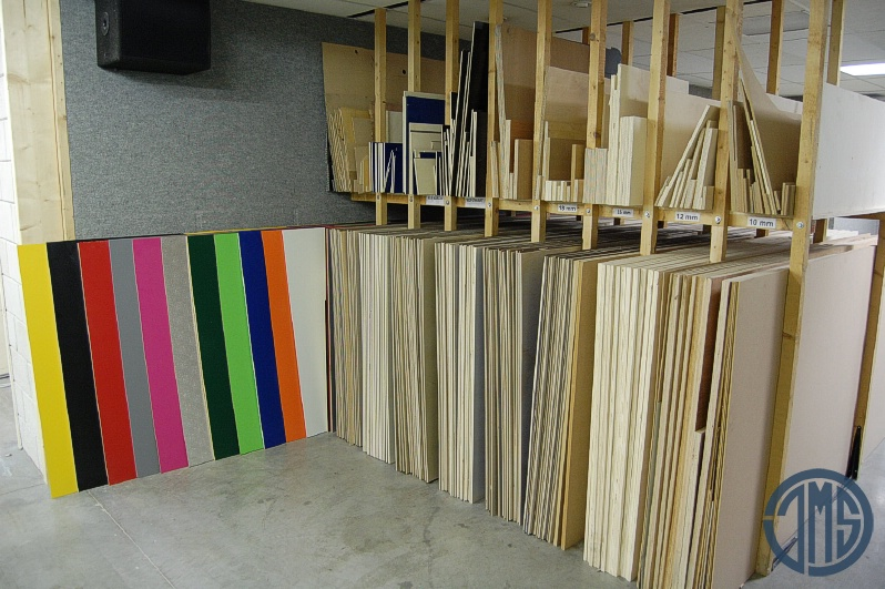 Flightcase plaatmateriaal